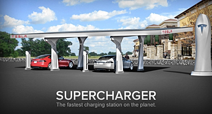 Tesla to Create 100-Strong 'Supercharger' Fast Charging Network in US