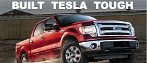 Tesla to Take on Ford's F-Series with Electric Pickup Truck