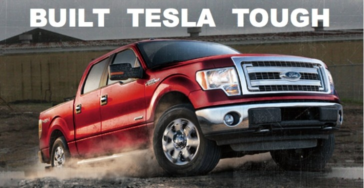 Tesla To Take On Ford S F Series With Electric Pickup