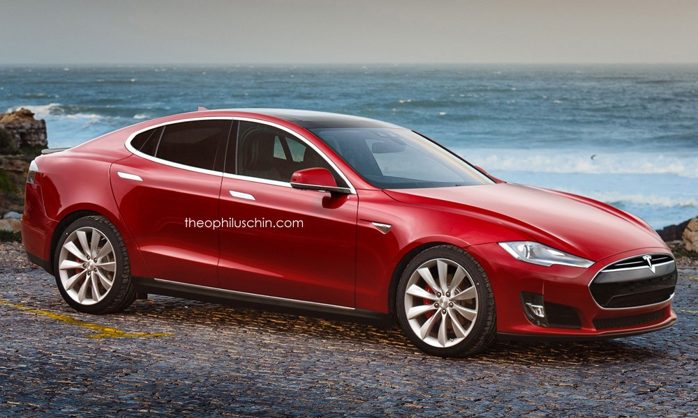 Elon Musk Announces Tesla Model 3 35 000 Compact Executive Will Be Launched In March 2016