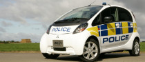 Thames Valley Police Takes Delivery of Mitsubishi i-MiEV
