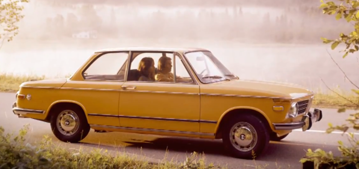 The 02 Series: BMW's First Sporty Sedan [Video]