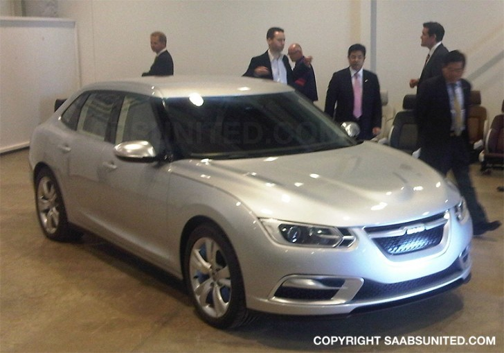 The Real 2013 Saab 9-3 Finally Emerges