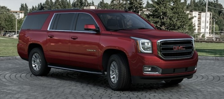 The 2015 GMC Yukon Comes in 9 Colors. Which One Do You Prefer? [Photo