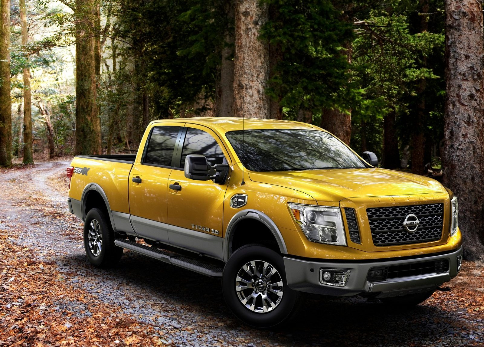 the 2016 nissan titan diesel can tow a massive 12 314 pounds autoevolution. Black Bedroom Furniture Sets. Home Design Ideas