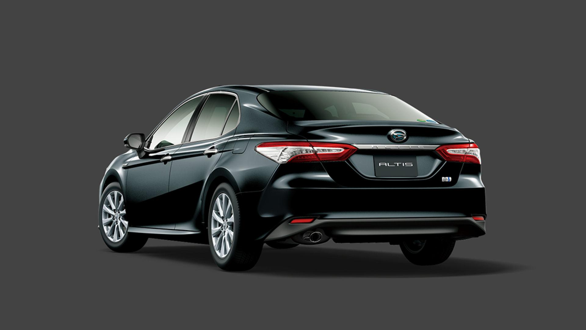 the 2018 daihatsu altis is a japan only take on the 2018 toyota camry hybrid autoevolution. Black Bedroom Furniture Sets. Home Design Ideas