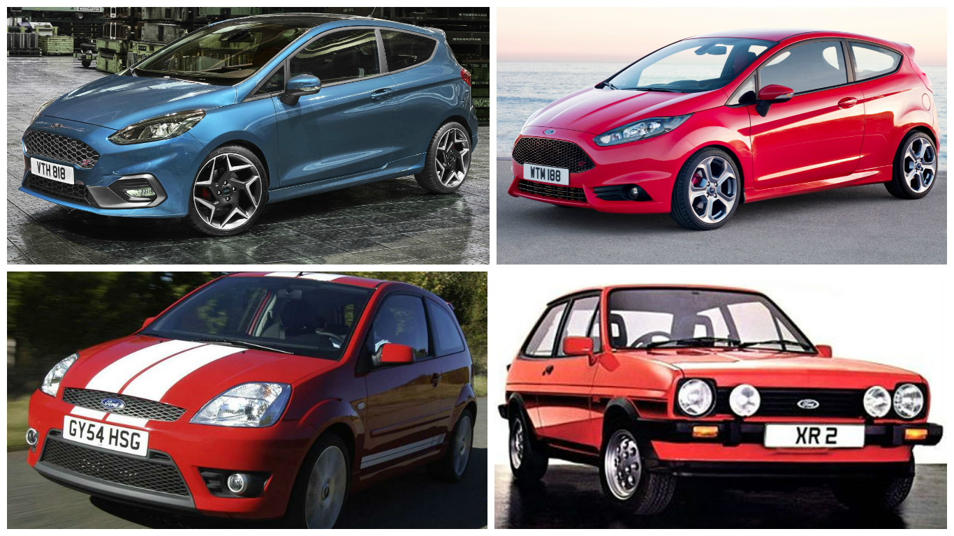 the 2018 ford fiesta st compared to its predecessors autoevolution. Black Bedroom Furniture Sets. Home Design Ideas