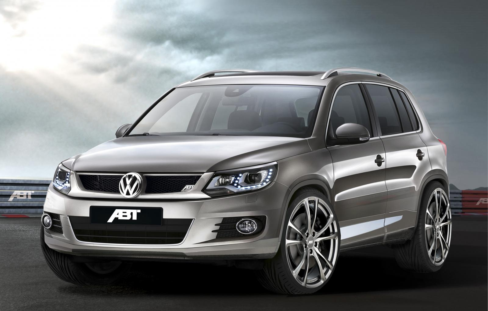 the abt volkswagen tiguan autoevolution. Black Bedroom Furniture Sets. Home Design Ideas