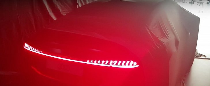 The All New Audi A7 Has Crazy Pulsating Kitt Taillights