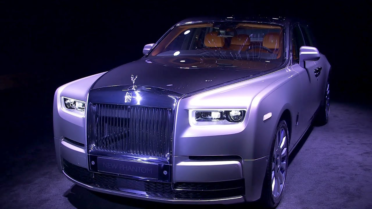 2018 rolls royce phantom viii has aluminum platform and an onboard art gallery autoevolution. Black Bedroom Furniture Sets. Home Design Ideas