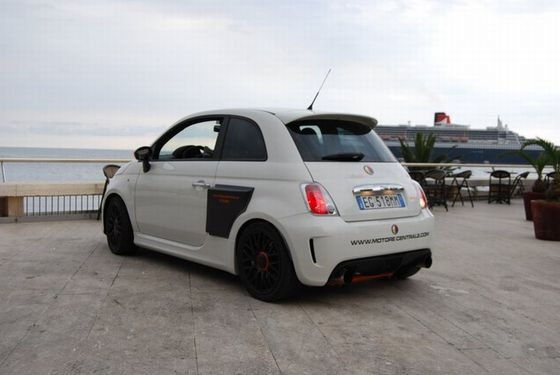 Aznom Fiat 500 Motore Centrale Debuts At Top Marques