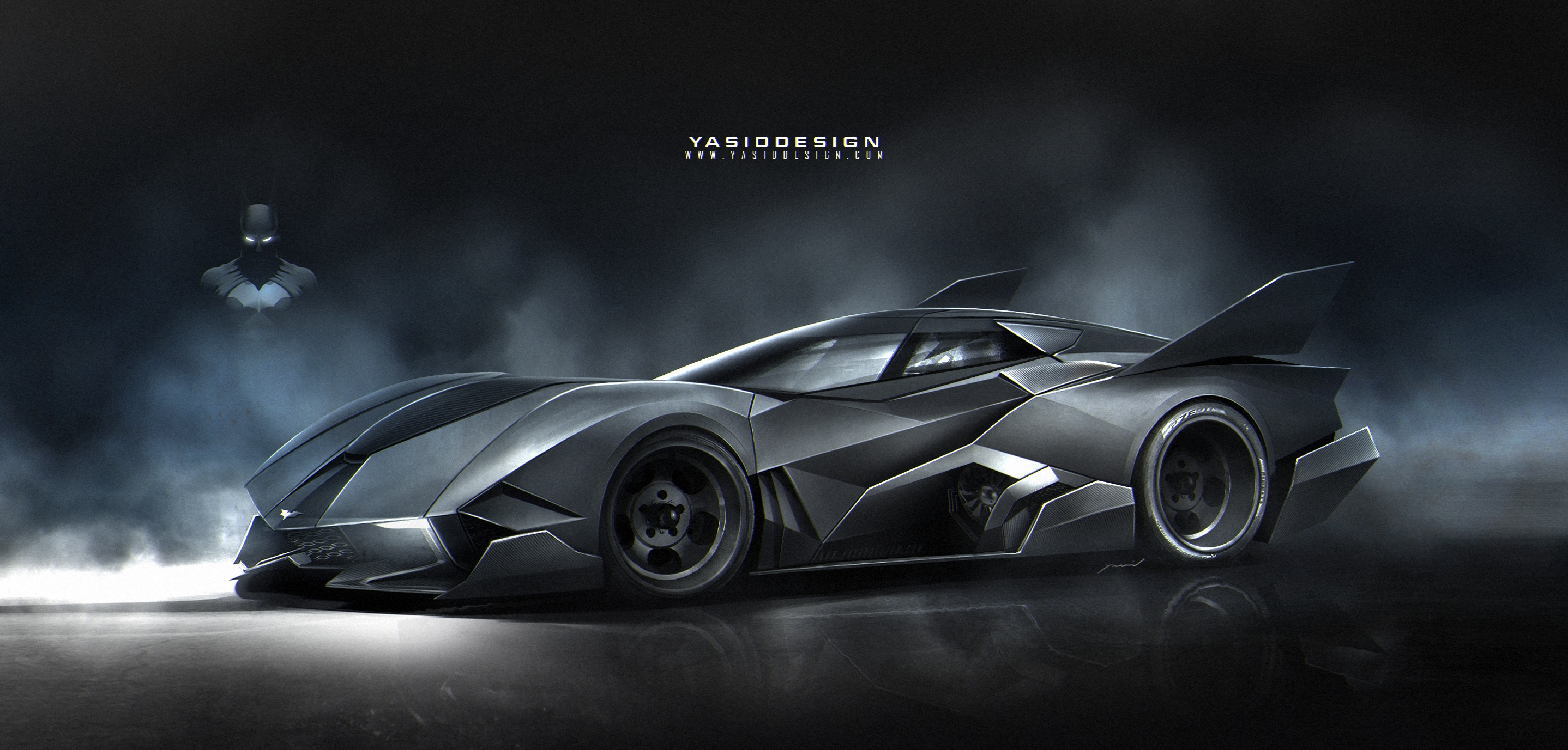 The Batmobile Egoista Is Like Superhero Supercar Fusion