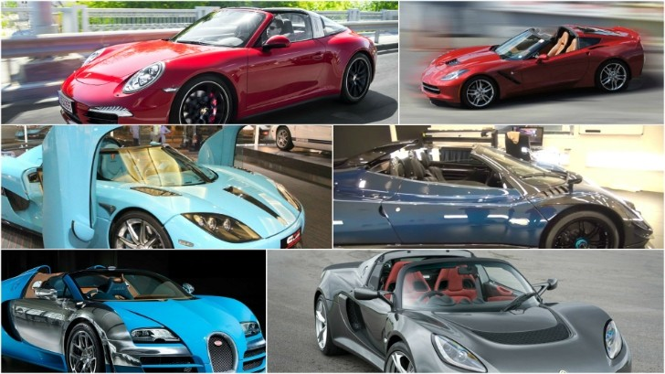 The Best Cars With Targa Style Tops Sold Today Autoevolution