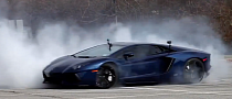 The Best Lamborghini Aventador Donuts Ever! [Video]