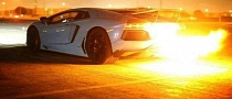 The Biggest Aventador Exhaust Flame We've Seen So Far