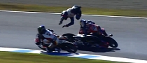 The Biggest Crashes at Motegi [Video]