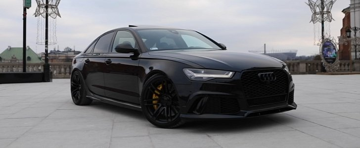 The Black RS Sedan That Audi Never Built Has HP Autoevolution - Black audi