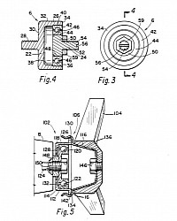 Spinners components as shown in the patent