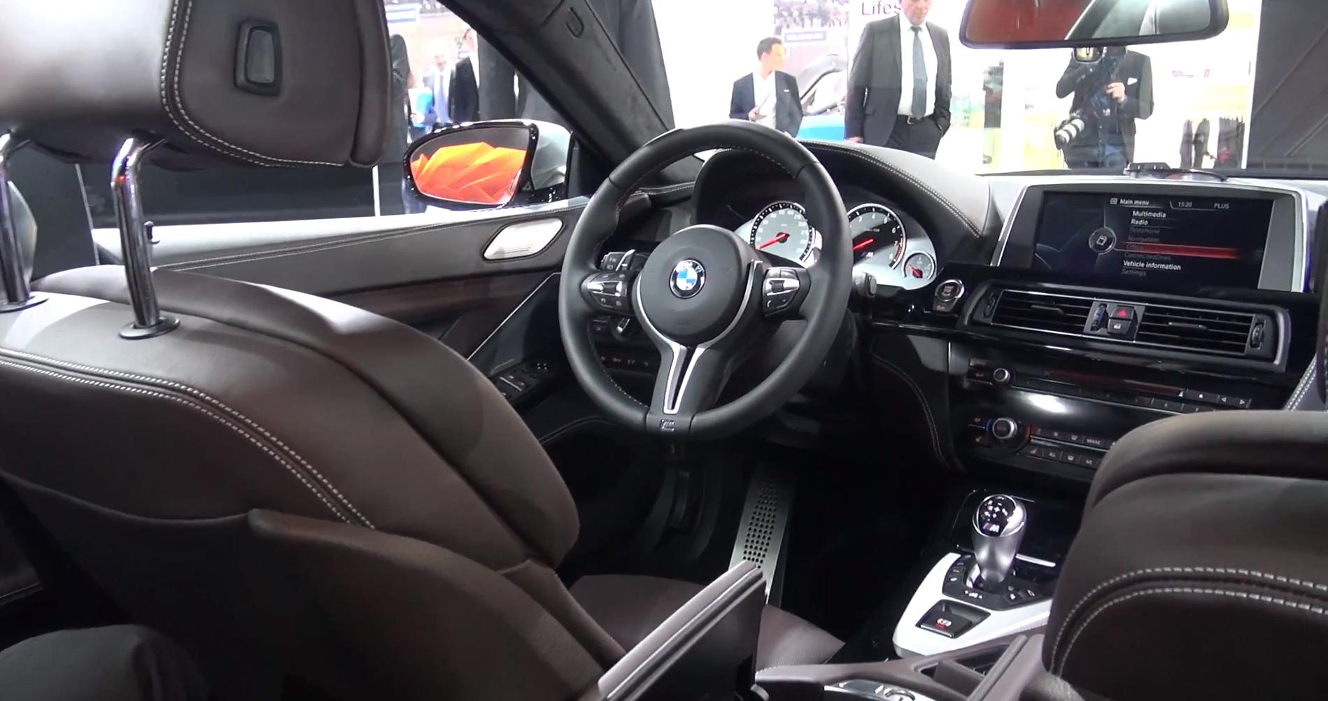 The bmw f06 m6 gran coupe interior showcased at geneva - Bmw m6 gran coupe interior ...