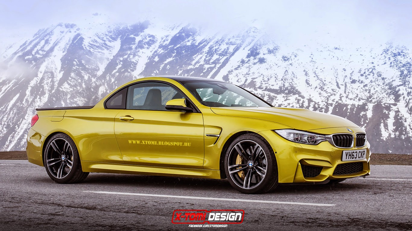 The BMW M4 Pickup Rendering Finally Happened - autoevolution