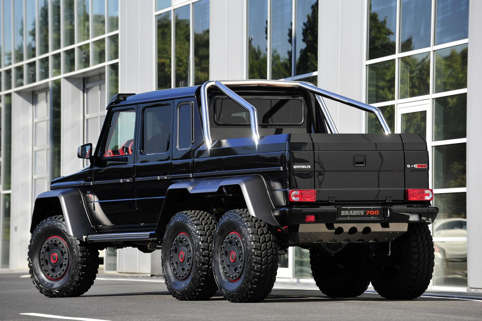 the brabus b63s 700 6x6 is not as expensive as you might think autoevolution. Black Bedroom Furniture Sets. Home Design Ideas
