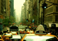 Traffic congestion in New York