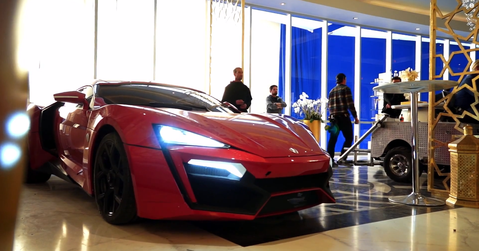 Fast And Furious 7 W Motors >> The Cast and Crew of Furious 7 Enjoyed Working with the Lycan Hypersport - autoevolution