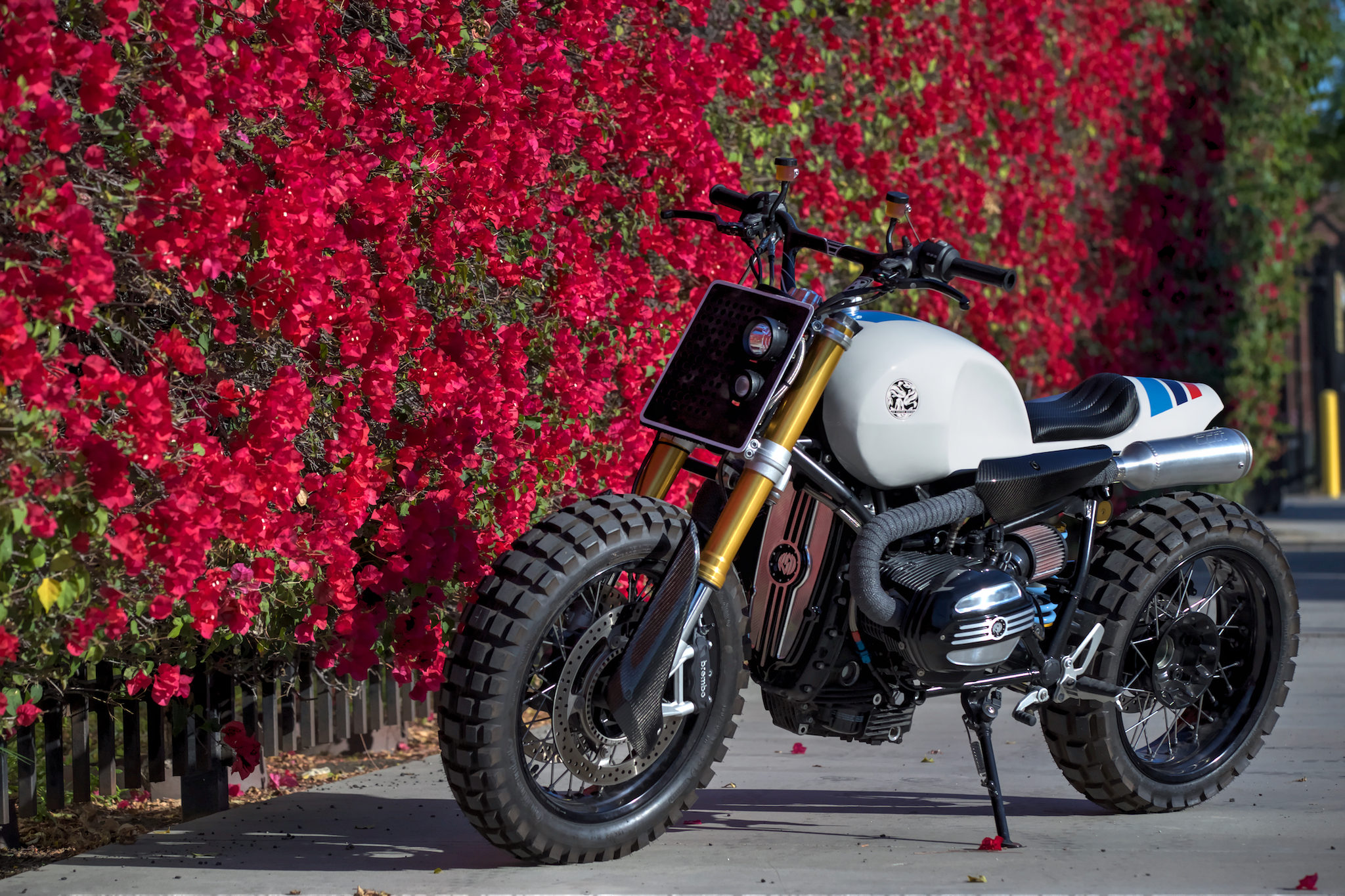 the chocolate slider is jsk custom design's amazing bmw r ninet, Wiring diagram