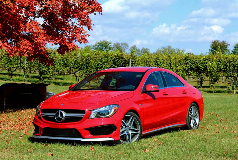 The CLA 250 and 45 AMG Get Reviewed by Autos, Eh