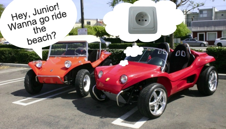 The classic meyers manx dune buggy gets electric counterpart and it sucks autoevolution