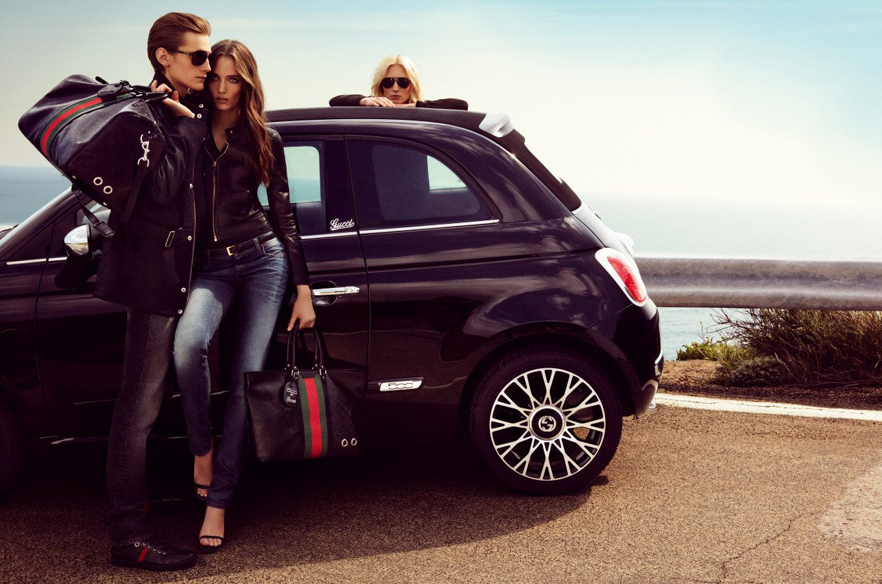 The Convertible That Matches Your Bag: Fiat Launches 500C ...