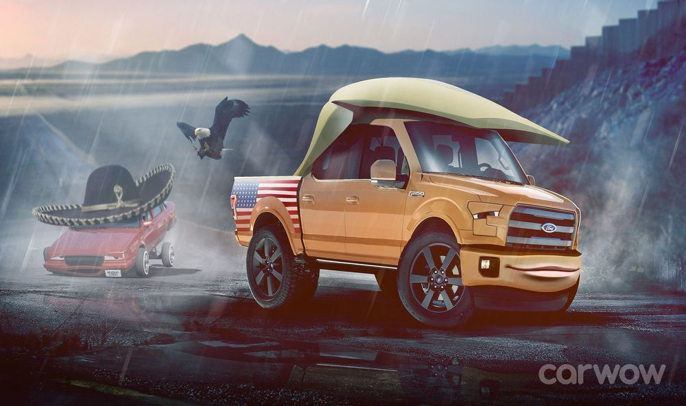 ... Donald Trump or Angela Merkel into characters of the next Cars