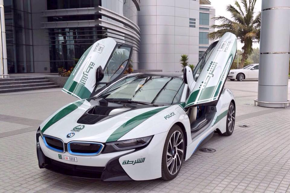 The Dubai Police Force Adds A Bmw I8 To Its Impressive Fleet Of Supercars Autoevolution