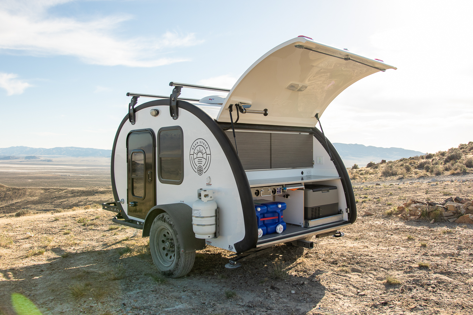 The Ever-Modern Bean Stock Teardrop Camper: Perfect for Jack's Outdoor Travels