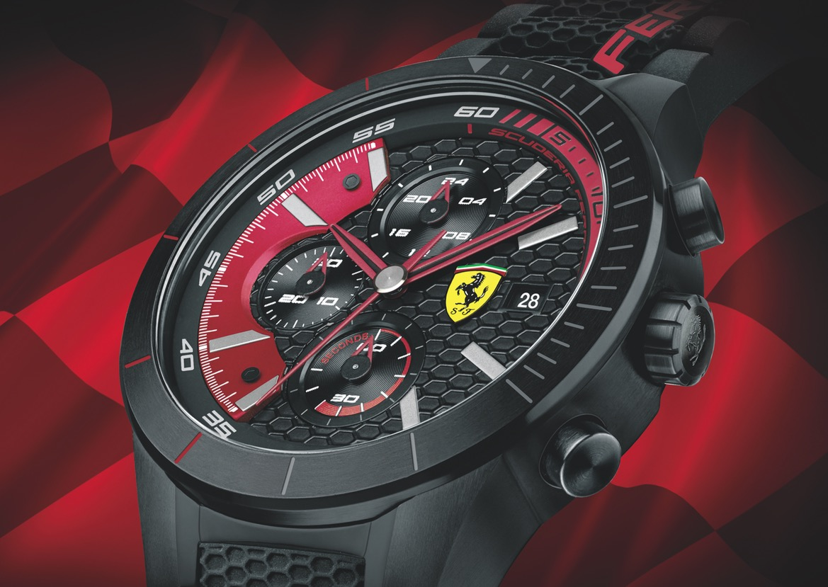 The Fall Winter 2015 Scuderia Ferrari Watch Collection