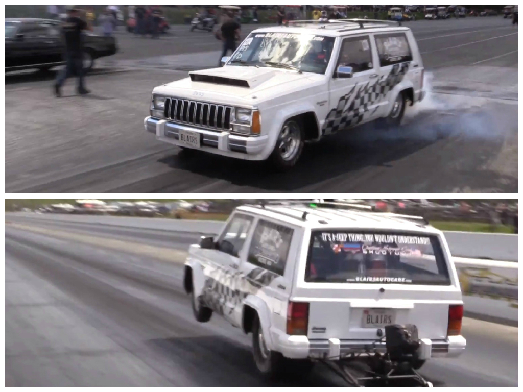 The Fastest Jeep Cherokee in the World Is an 8s Street-Legal Machine