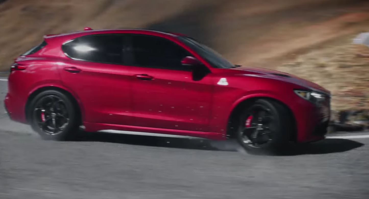The First Alfa Romeo Stelvio Commercial Is A Rhyme Autoevolution