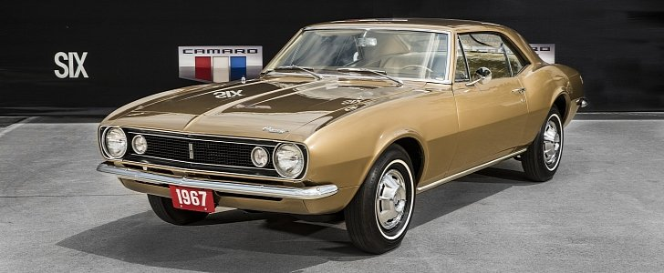 the first chevrolet camaro turns 50 years old