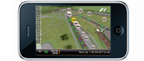 The First iPhone App for Tracking F1 Cars in Real Time