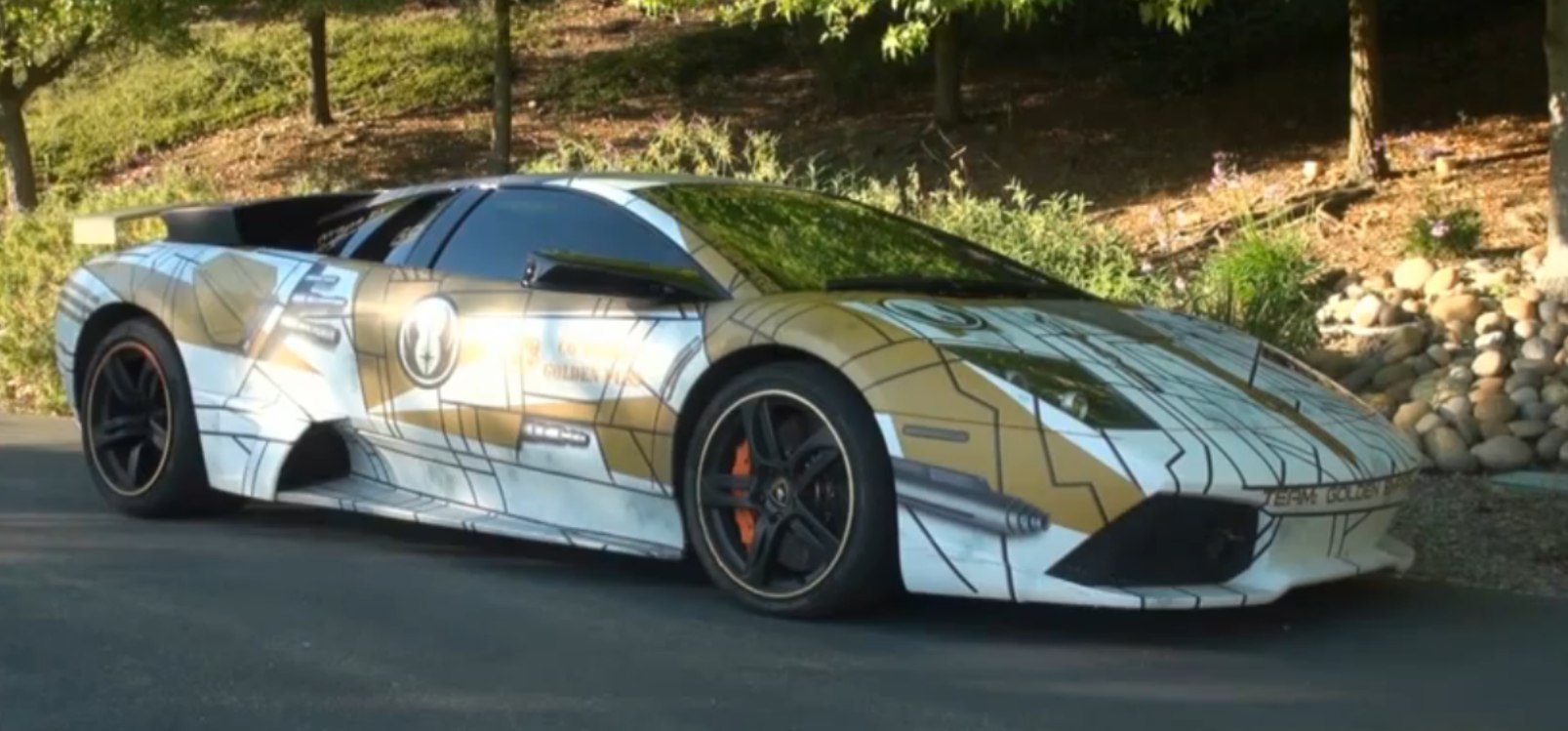 The Force Is Strong With Star Wars Themed Lamborghini