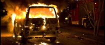 The French Holocaust of Torched Cars On New Year's Eve