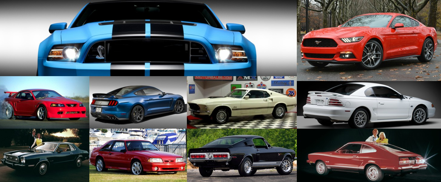 The Greatest and the Most Dreadful Ford Mustang Models of All Time ...