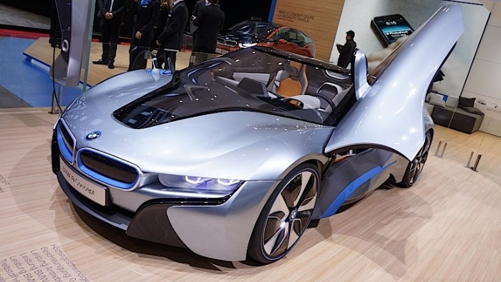 The Hybrid Sports Car from BMW Present at Geneva 2013