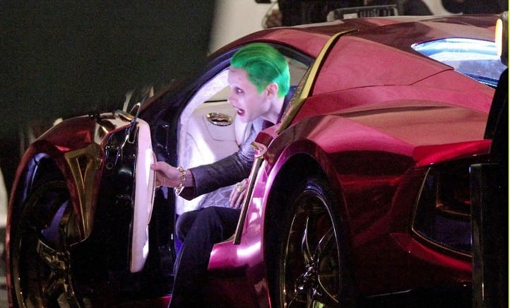 The Joker's Villain Car in Suicide Squad Is a Customized ...