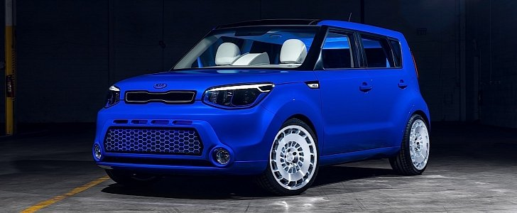 Green Kia Soul >> The Kia Soul First Class Concept is an Autonomous Two ...