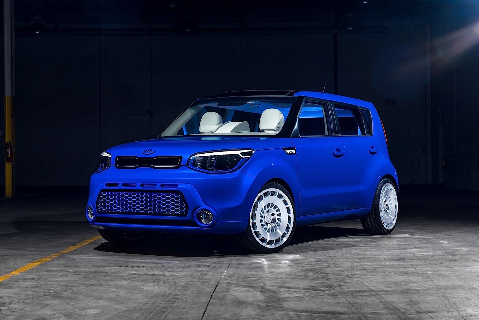 The Kia Soul First Class Concept Is An Autonomous Two