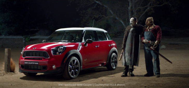 The Killers Are Back: Killer MINI Countryman Commercial [Video]