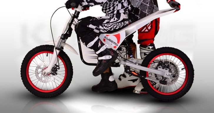 the kuberg trial e an electric trial bike for kids. Black Bedroom Furniture Sets. Home Design Ideas