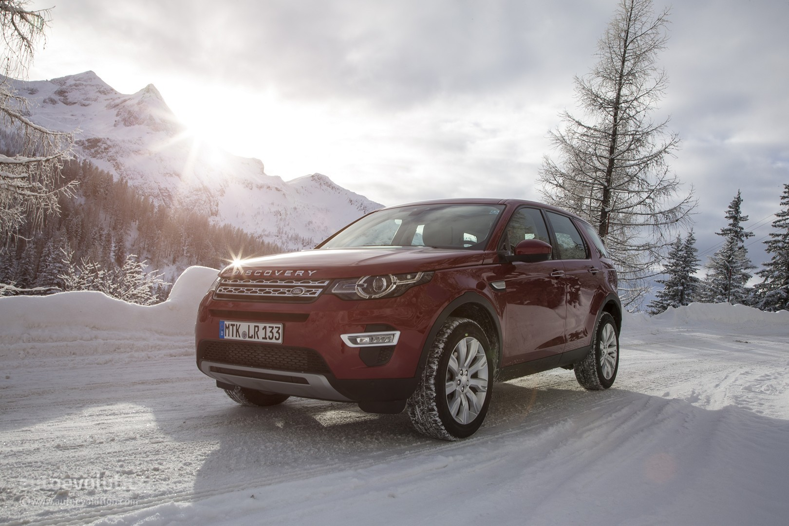 Wallpaper Land Rover Discovery Sport: 2015 Land Rover Discovery Sport Wallpapers