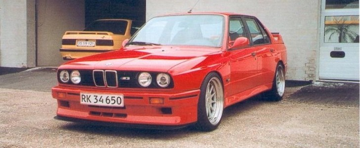 Bmw M3 E30 >> The Legend Is True, Here's a 4-door BMW E30 M3 - autoevolution